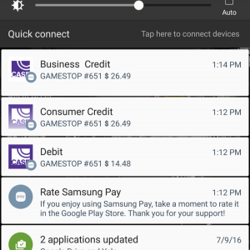 Samsung Pay Transaction