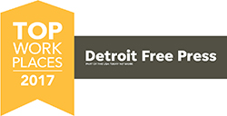 The Detroit Free Press' - Top Workplaces 2017
